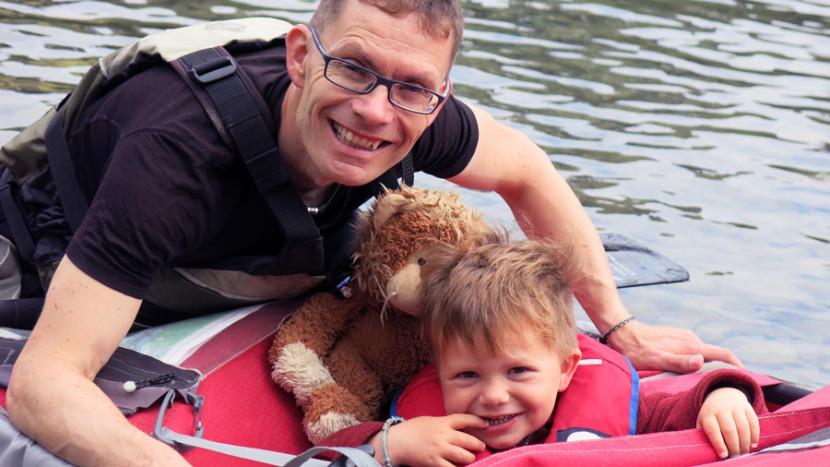 Interview: Eine Schweizer Familie auf den Spuren der Karibus