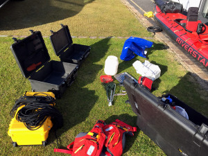 Equipment for Yukon Expedition.