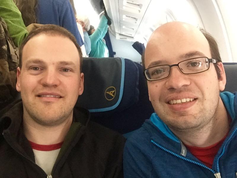 Condor-Flug DE7046 hebt ab Richtung Kanada