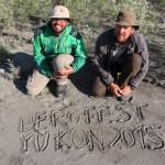 Wir feiern Bergfest am Yukon