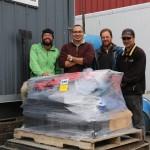 Überraschend schnell in Anchorage
