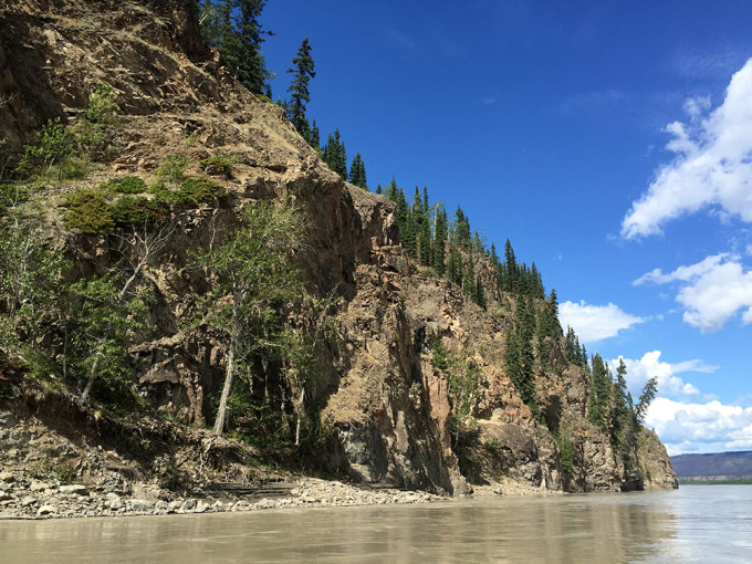 Yukon River near Dawson