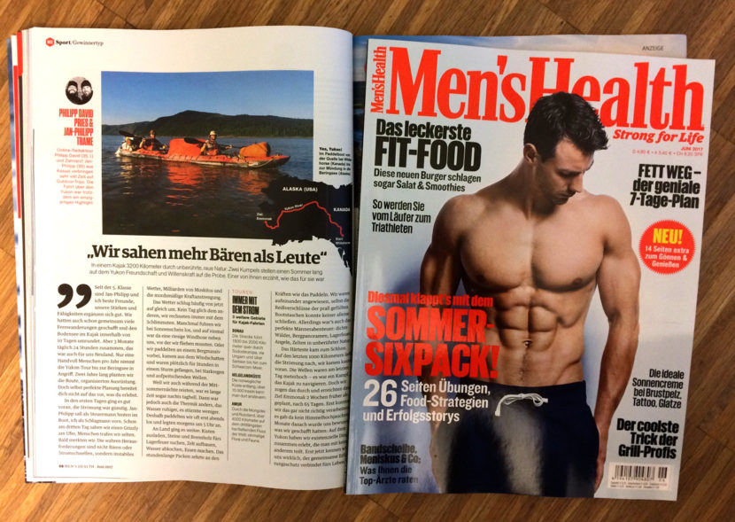 Yukon-Expedition in der Men's Health